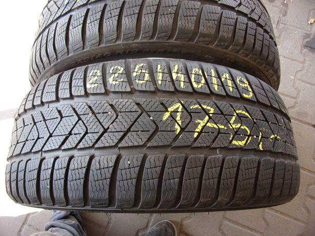 opony zimowe 225/40/19 Pirelli RSC 2 szt 2018r