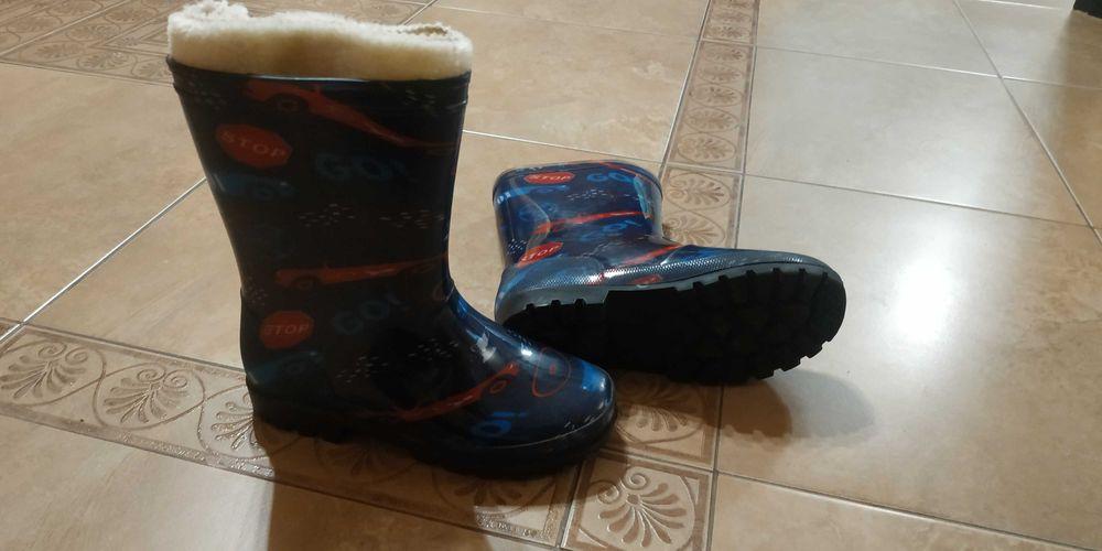 Продам детские резиновые сапоги с утеплителем 34 р. Одесса - изображение 1