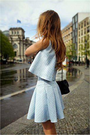 biała bluzka spódniczka sukienka s 36 guess levis hilfiger kors