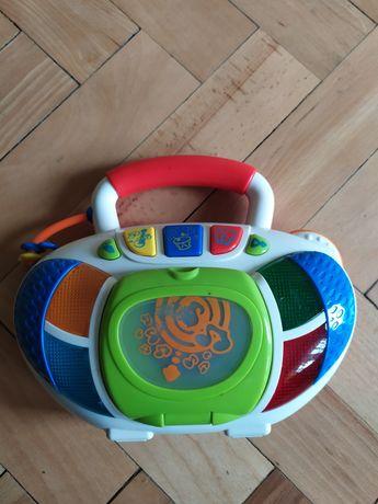 Zabawkowy radiomagnetofon