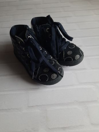 Срочно! Цену снизила! Демисезонные ботиночки для девочки Melania 26 р