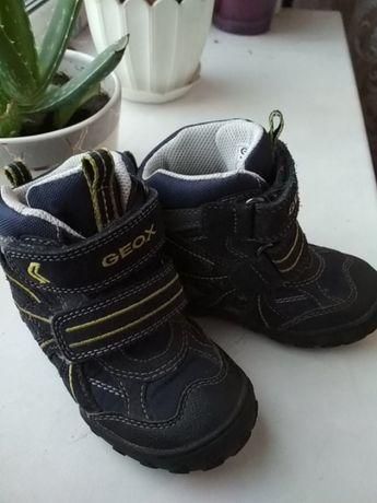 Термо ботинки Geox.