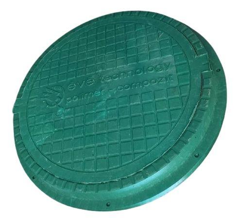 Люк садовый канализационный квадратный/круглый
