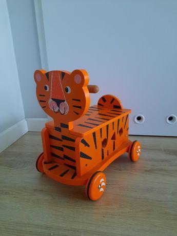 Jeździk dla dzieci drewniany Tygrysek