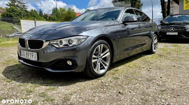 BMW Seria 4 XDRIVE GranCoupe automat 8biegow nawigacja sportline