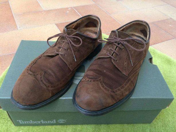 Sapatos em Camurça Homem Tamanho 40