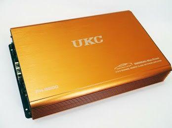 Автомобильный усилитель звука UKC  9600W 4-х канальный