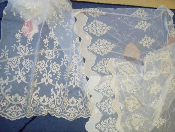 Ткань для рукоделия вышивка на сетке