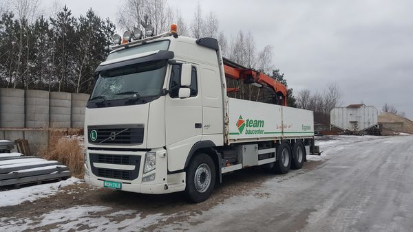 volvo ciężarowy 6x4 z hds