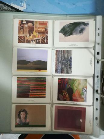 Colecção de calendários de Bolso