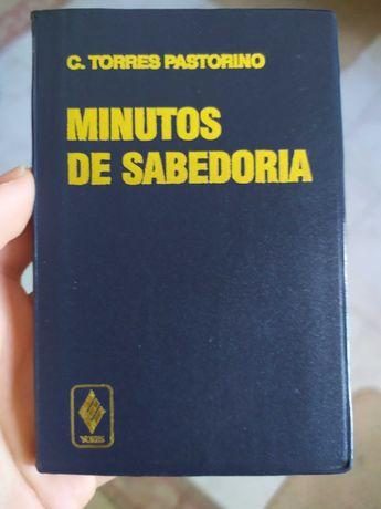 """Livro """"Minutos de Sabedoria"""" de Carlos Pastorino NOVO"""