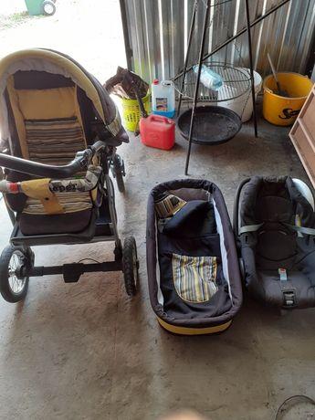 Wózek dziecięcy fotelik nosidełko