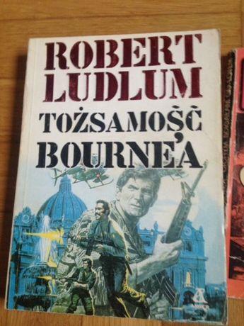 Komplet trzech książek przygodowych - Conan, Bourne oraz Joe Alex