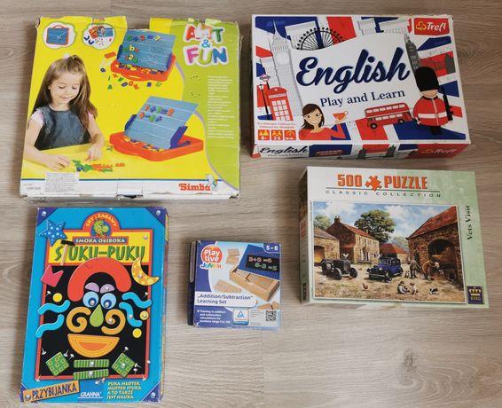 Zestaw gier edukacyjnych
