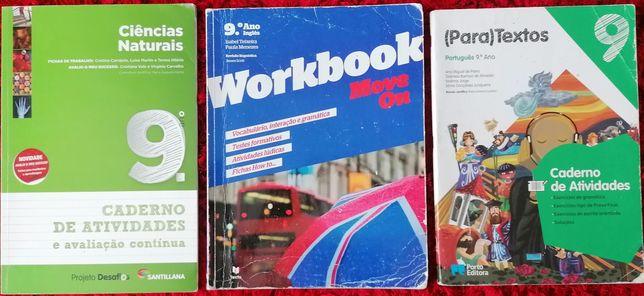 Cadernos de atividades - 9. Ano