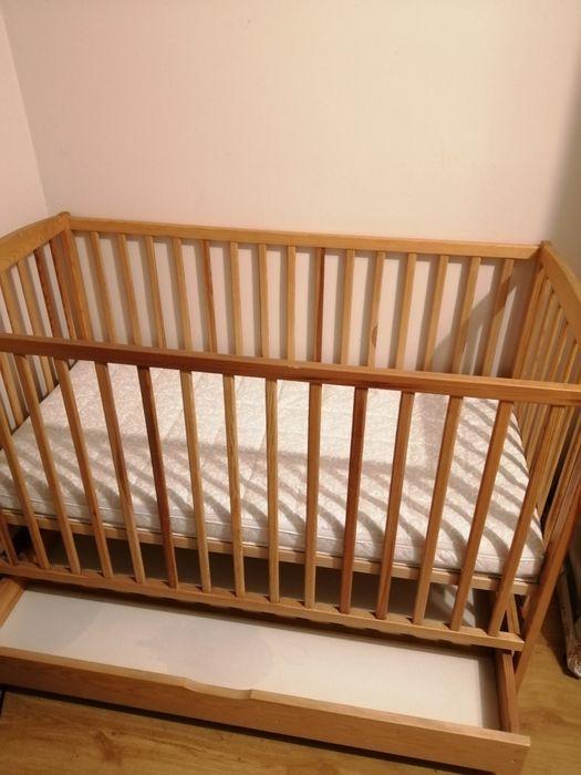 Łóżeczko dziecięce z materacem Domaniew - image 1