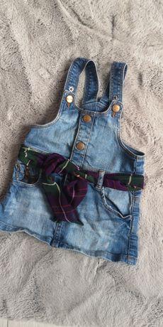Spódnica jeansowa Zara 18-24mies
