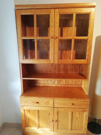 Aparador modular de madeira