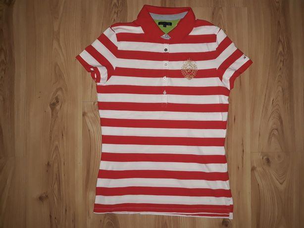 Koszulka damska Polo L Tommy Hilfiger slim USA j.nowa