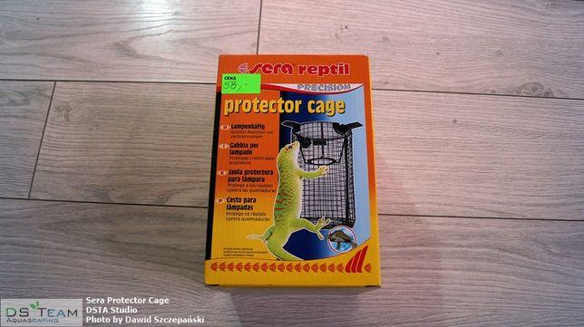 Sera Reptil Protector Cage - osłonka na żarówkę do terrarium, nowa!
