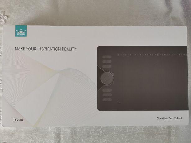 Tablet Graficzny HUION HS610 Nowy do telefonu, laptopa, tableta
