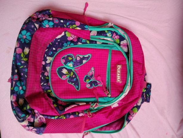 Plecak szkolny dla dziewczynki różowy