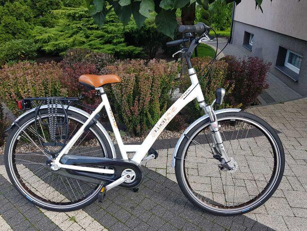 Rower holenderski PUCH, 28 cali, aluminiowy, 3 biegi