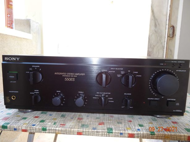 Amplificador Sony TA-F 550 ES