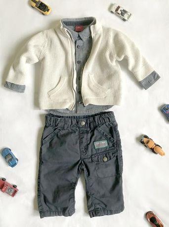Комплект на мальчика 3-6 месяцев (62-68см) s. oliver/zara