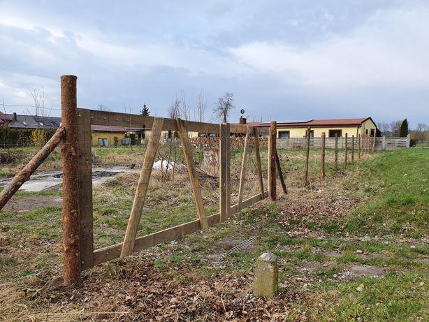 Ogrodzenie tymczasowe, płot na budowe, ogrodzenie leśne budowy