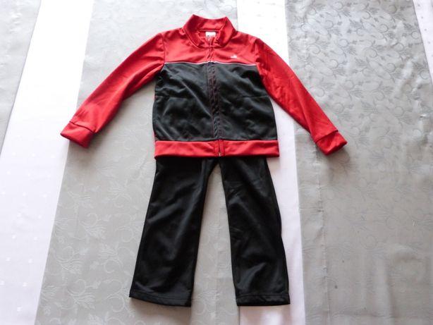 Dresy chłopięce sportowe Domyos Bluza+Spodnie rozmiar 98