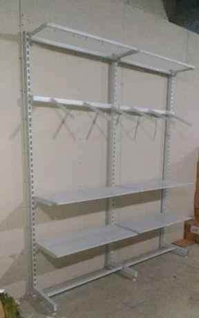 Конструкция для торговли одеждой - напольная настенная Nika
