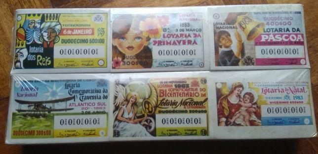 Caixas de fósforos - Lotaria clássica