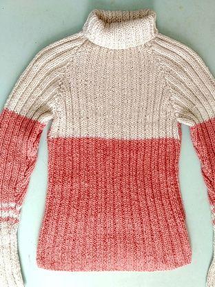 Мохеровый свитер.