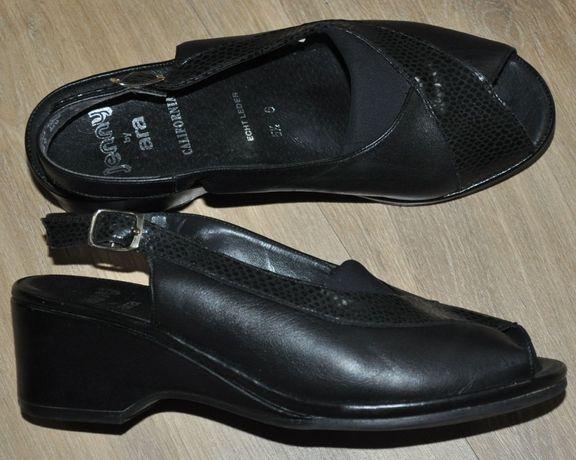 Jenny by Ara R.38 skórzane sandały, sandałki -super stan, jak Ecco