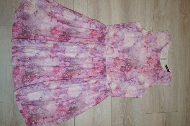Sukienka z grubej koronki George rozmiar 158