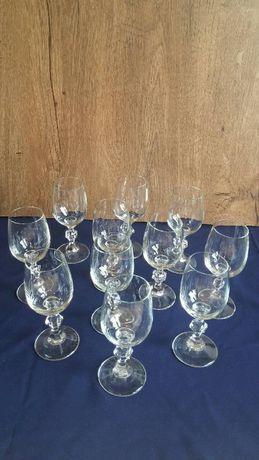 kieliszki szklane kieliszek szkło zestaw kieliszków prl