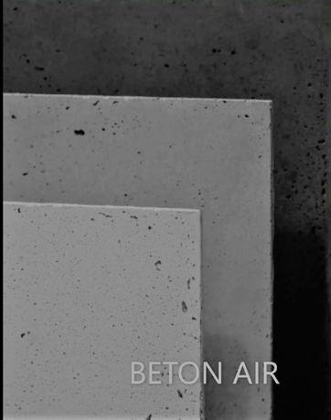 Płyty betonowe ścienne, beton architektoniczny, cienkie, duże formaty