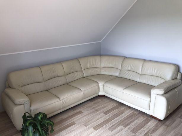 Narożnik skórzany Etap sofa, rozkładany