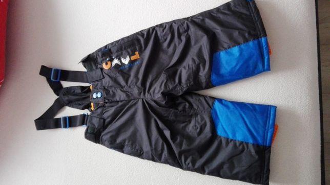 spodnie zimowe śniegowce chłopiec, rozmiar 92