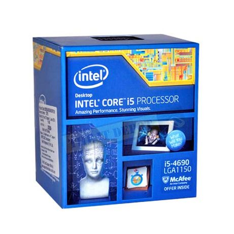 Intel i5-4690 (3.5 Ghz) - Processador (CPU) - Socket (LGA) 1150 (5)