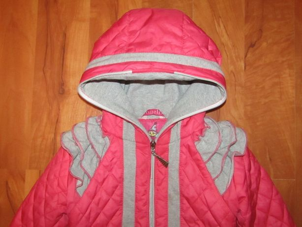 """Фирменная демисезонная куртка курточка пальто """"ANGELI.B """"для девочки"""