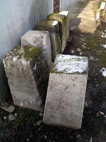 Słupki betonowe za darmo