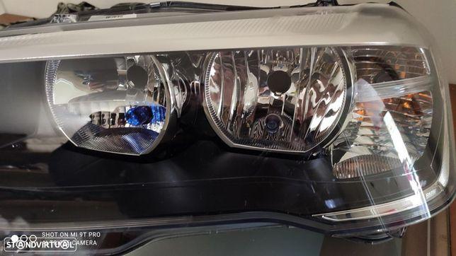 farol esquerdo BMW X3 f25 + x4 F26 LCI halogéneo
