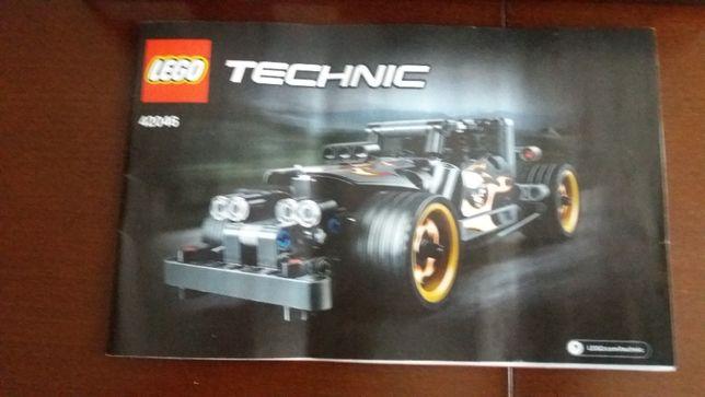 Instrukcja do LEGO TECHNIC 42046 Getaway Racer