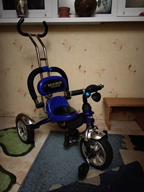 Велосипед детский трёхколёсный Mars Trike на надувных колесах