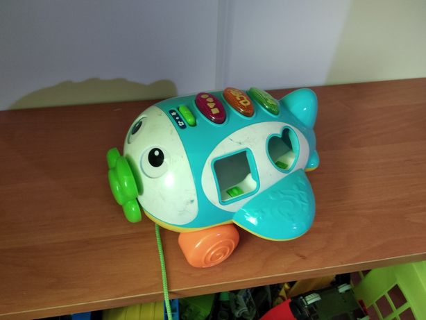 Zabawka interaktywna samolot