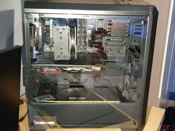 Komputer gtx1060 6gb msi intel core i5 8400