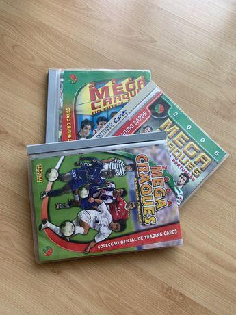 Mega Craques da Panini - coleções completas (2004, 2005, 2006)