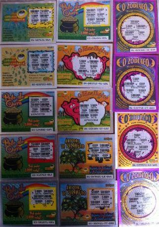 As primeiras Raspadinhas - Lotaria Instantânea - Escudos
